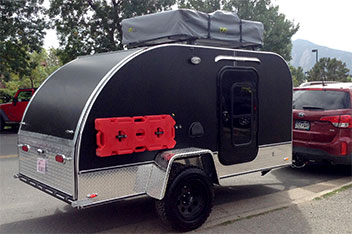 Massive Teardrop Trailer