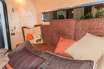 Massive Teardrop Trailer cabin