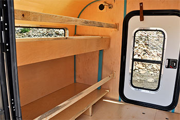 Summit Teardrop Cabin Bunks